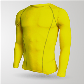 TSS Baselayer Long Sleeve Tee – Yellow