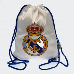 Real Madrid Gym Bag – White