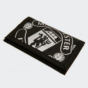 Manchester United Nylon Wallet – Black
