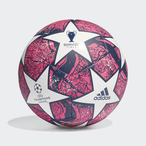 adidas Finale Istanbul Club Ball – White/Navy/Pink