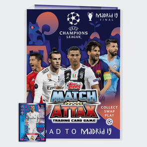 Topps Match Attax Champions League Trading Cards 2018/19