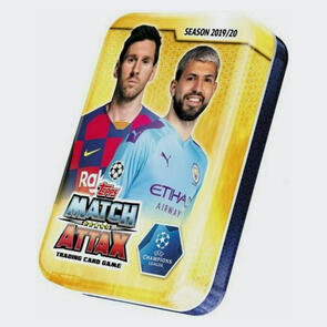 Topps Match Attax 2019/20 UEFA Champions League Mini Tin