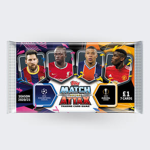 Topps Match Attax Trading Cards – 2020/21 UEFA Champions League