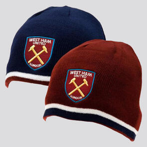 West Ham United Reversible Beanie