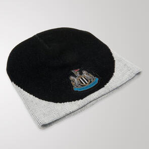 Newcastle United Beanie – Black/White