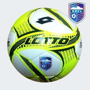 Lotto Iper VTB – NRFL Match Ball Black/Yellow