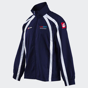 Lotto WaiBOP Referees Wind Jacket – Navy