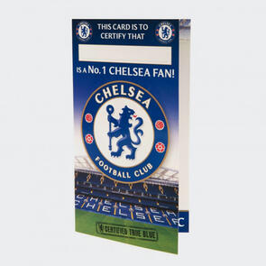 Chelsea No. 1 Fan Birthday Card
