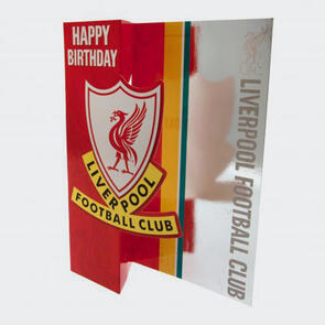 Liverpool Birthday Card