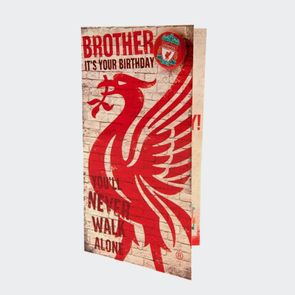 Liverpool Birthday Card Brother