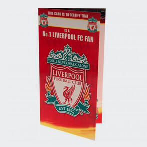 Liverpool Birthday Card – No. 1 Fan