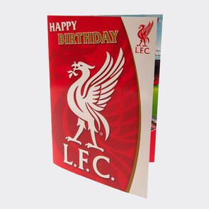 Liverpool Musical Birthday Card