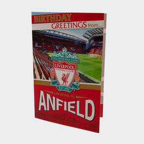 Liverpool Pop Up Birthday Card