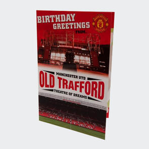 Manchester United Pop Up Birthday Card