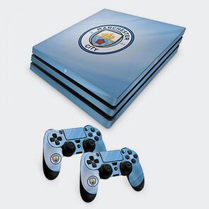 Manchester City PS4 Pro Skin Bundle