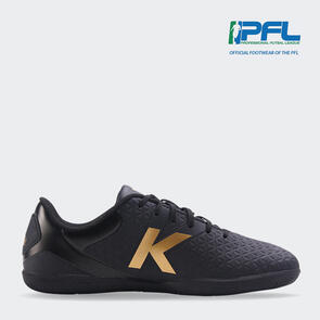 Kelme K-Sala Futsal Shoe - Black/Gold