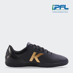 Kelme K-Sala Futsal Shoe - Black/Gold