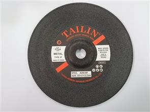 TAILIN General Purpose D/C Grinding Disc 230x6.5x22mm A24S 2.5G 0980