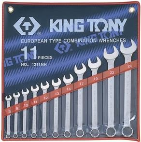 KING TONY KT1211MR R/OE Wrench 11pc Set 8-24mm