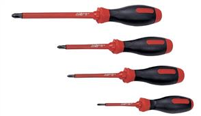 KING TONY KT14710204 Screwdriver Insulated PH #2 x 100mm