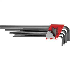 TENG HEX KEY SET EXTRA LONG 9PC 1.5-10mm 1479MMRL