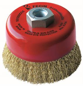 FECIN CW Cup Brush Steel 125xM14 0,32 High Performance