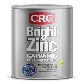 CRC 2187 Bright Zinc 1Ltr