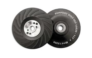 FLEXIPADS 11723 Back Up Pad Turbo 125mm M14 x 2.0 Hard
