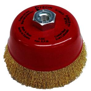 FECIN Crimp Cup Brush 125 x30 0.30mm M14