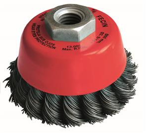 FECIN TK Cup Brush Steel  65mm x M14 0.50