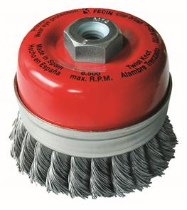 FECIN TK Cup Brush Steel 100mm x M14 0,50