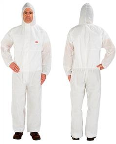 3M 4515 Coverall White Type 5/6 Large