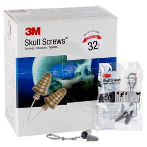 3M P1301 Ear Plugs Skull Screw, Corded 120p