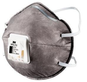 3M 9913V GP1 Valved Respirator Mask 10pk