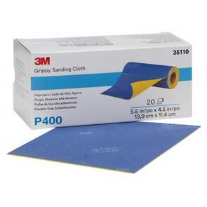 3M 35112 Grippy Sanding Cloth 140x114mm  800G