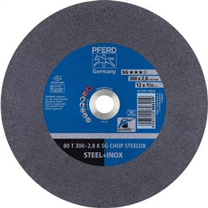 PFERD Inox Cut Off Disc 80T 300x2.8mm A36 KSG CHOP