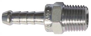 ARO Steel Tailpiece 1/4 BSP (10mm Hose)