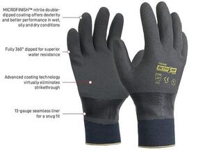 APEX AG503-9 Glove Nitrile Fully Dipped Large