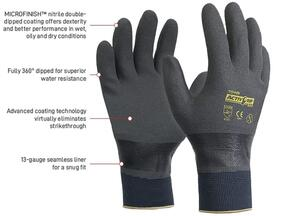 APEX AG503-8 Glove Nitrile Fully Dipped Medium
