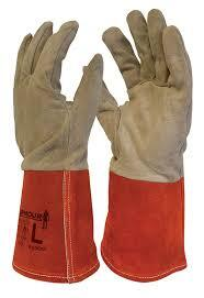 ARMOUR DEER SKIN TIG WELDING GLOVE 30cm (L)