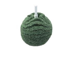 "FLEXIPADS BA320 3"" Scruff Ball Medium Green"