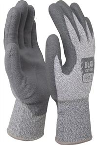 ARMOUR BLADE PU CUT 5 OPEN BACK GLOVE 2XL