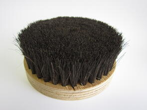 Bottom Brush 180mm Black 70mm Bristles