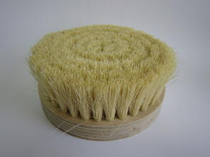 Bottom Brush 180mm White 50mm Bristles
