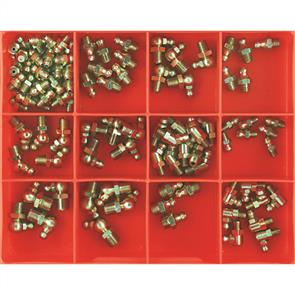 CHAMPION METRIC GREASE NIPPLE ASSORTMENT 105PC CA109
