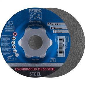 PFERD Combiclick Solid Grinding Disc 115 SG Steel