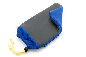 FLEXIPADS CMFIN Clay Prep Mitt Blue Fine Grade