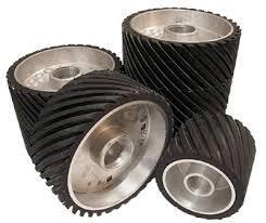 Contact Wheel Coated Rim  75x 50mm