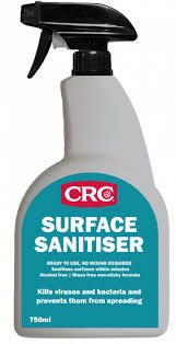 CRC Surface Sanitiser Trigger Bottle 750ml