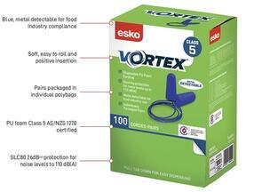 ESKO Proplug Metal Detectable Earplugs 100Pack